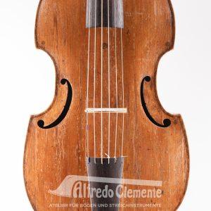 VLA Viola de Gamba Johannes Georg Mathe 1726 Decke