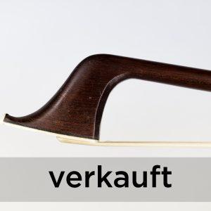 VLCB Bazin 1890 Violincello Bogen Kopf