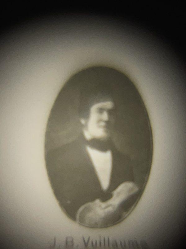 Violinbogen Carl Albert Nürnberger Froschauge Mikrofilm Vuillaume