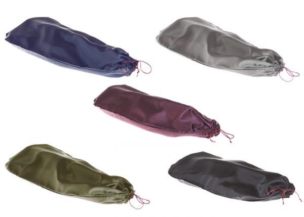 Maurizio Riboni Instrumentenhülle in den Farben Blau, Grau, Bordeaux, Grün und Schwarz