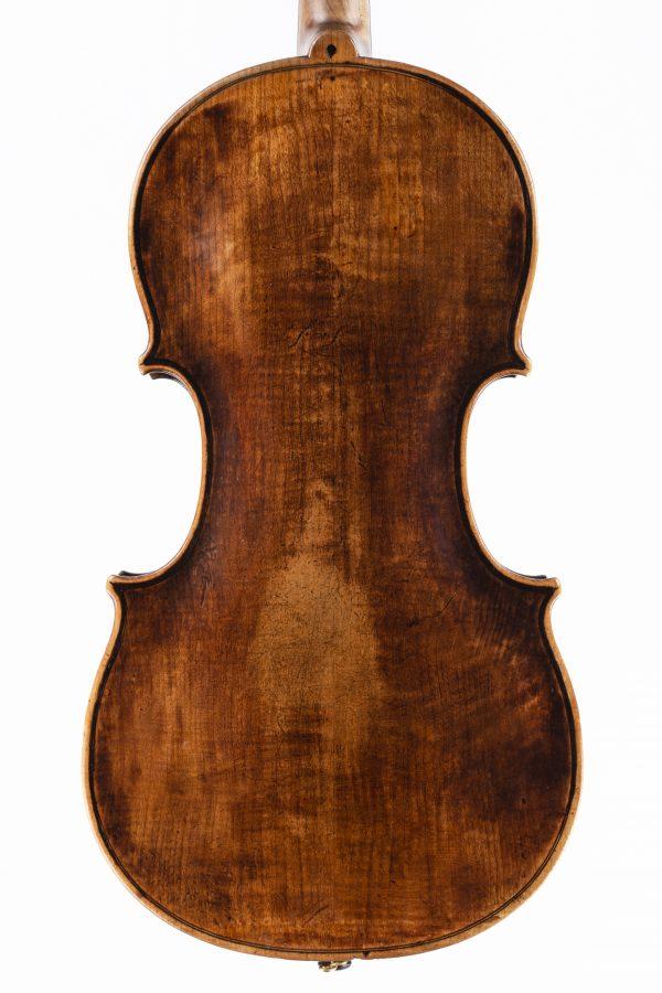 Violine Mittenwalder Schule Ende 18. Jahrhundert Boden