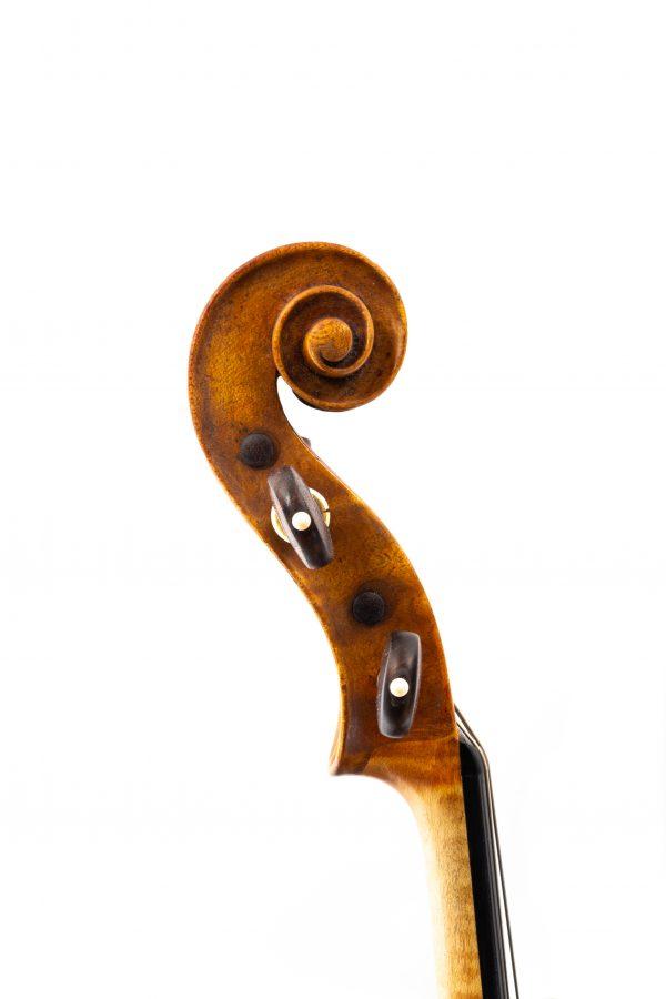 Viola Giuseppe Sgarbi Rom 1880 Zerifikat Schnecke