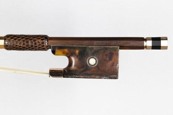 Violinbogen Charles Nicolas Bazin Mirecourt 1900 Frosch